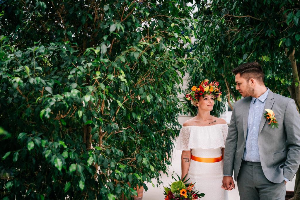 Hochzeit tropisch tropical Wedding München Hochzeitsplanung